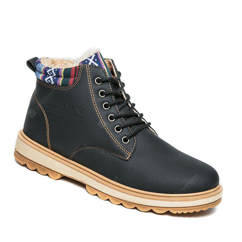 Fashionable  Leather Martin Boots for Men