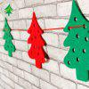 Christmas Tree Ornament for Christmas Decoration 8pcs - COLORFUL