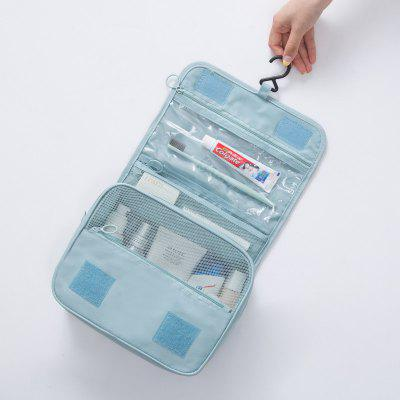 Simple Travel Toiletry Waterproof Hanging Wall Bag
