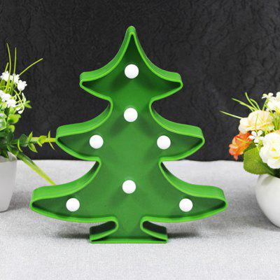Buy GREEN BRELONG 3D Warm White Decoration Night Light for Kids Room Christmas Wedding Christmas Tree 3V for $4.92 in GearBest store