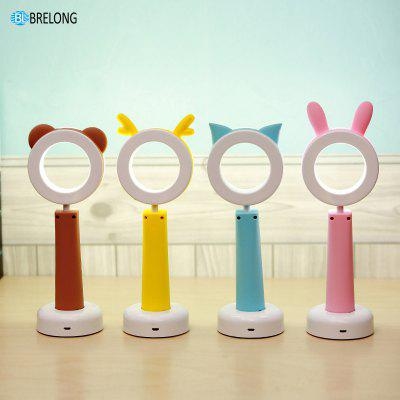 BRELONG USB Learning Desk Lamp Charging LED Night LightNight Lights<br>BRELONG USB Learning Desk Lamp Charging LED Night Light<br><br>Brand: BRELONG<br>Color Temperature or Wavelength: 3000-3500  6000-6500<br>Connector Type: USB<br>Features: Rechargeable<br>Light Source Color: Warm White<br>Light Type: LED,Night Light,Table Lamp,LED Night Light,LED Reading Light<br>Mini Voltage: 5V<br>Package Contents: 1 x Table lamp , 1 x Manual  (Chinese), 1 x Certificate, 1 x USB cable , 1 x Box<br>Package size (L x W x H): 28.00 x 13.00 x 9.00 cm / 11.02 x 5.12 x 3.54 inches<br>Package weight: 0.2650 kg<br>Power Source: USB charging<br>Product size (L x W x H): 27.40 x 9.00 x 8.00 cm / 10.79 x 3.54 x 3.15 inches<br>Product weight: 0.1760 kg<br>Quantity: 1<br>Style: Cartoon<br>Wattage: 2W
