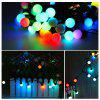 Luci di Natale Jiawen String 5m 50 LED RGB Holiday Ball Light AC 110V - COLORATO