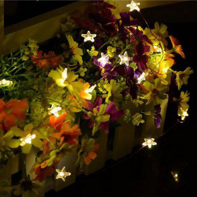 Buy Jiawen Christmas Light DC 12V 10M 100 LED Decorative Star Copper String Light for Holiday Party Decoration, WHITE LIGHT, LED Lights & Flashlights, Indoor Lights, Novelty lighting for $6.98 in GearBest store