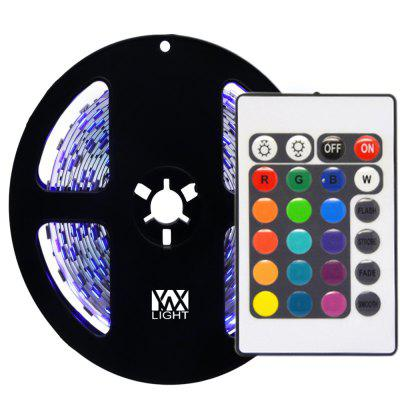 YWXLight 5M NO-Waterproof 24Key Remote Control Flexible LED Light Strips