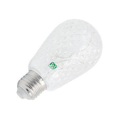YWXLight E27 8.0 2W Holiday Lighting LED Bulb Indoor Lamp AC 85 - 265 VGlobe bulbs<br>YWXLight E27 8.0 2W Holiday Lighting LED Bulb Indoor Lamp AC 85 - 265 V<br><br>Angle: 360 degrees<br>Available Light Color: Blue,Green,Warm White,Cold White<br>Brand: YWXLight<br>CCT/Wavelength: 6000-6500K,2800-3500K<br>Features: Retro Edison Style, Long Life Expectancy, Energy Saving, Low Power Consumption<br>Function: Commercial Lighting, Home Lighting<br>Holder: E27<br>Luminous Flux: 100 - 200 LM<br>Output Power: 2W<br>Package Contents: 1 x YWXLight E27 LED Bulb<br>Package size (L x W x H): 14.60 x 8.10 x 8.10 cm / 5.75 x 3.19 x 3.19 inches<br>Package weight: 0.0600 kg<br>Product size (L x W x H): 14.50 x 8.00 x 8.00 cm / 5.71 x 3.15 x 3.15 inches<br>Product weight: 0.0390 kg<br>Sheathing Material: PC<br>Total Emitters: 40 LED<br>Type: Ball Bulbs<br>Voltage (V): AC 85-265<br>Wattage Range: ?5W