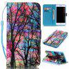 Colored Tree Painted PU Phone Case for Iphone 7 Plus / 8 Plus - COLORMIX