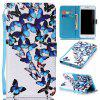 Custodia in pelle verniciata Butterfly per iPhone per Iphone 7 Plus / 8 Plus - COLORI MISTI