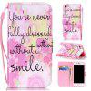 Pink Smile Painted PU Phone Case for Iphone 7 / 8 - COLORMIX