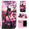 Butterfly Girl Painted PU Phone Case for Iphone 7 / 8 - COLORMIX