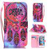 DREAM Painted PU Phone Case for iPhone 6 Plus / 6S Plus - COLORMIX