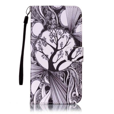 Black and White Trees Painted PU Phone Case for iPhone 6 Plus / 6S PlusiPhone Cases/Covers<br>Black and White Trees Painted PU Phone Case for iPhone 6 Plus / 6S Plus<br><br>Compatible for Apple: iPhone 6 Plus, iPhone 6S Plus<br>Features: Wallet Case, Dirt-resistant, With Lanyard, With Credit Card Holder, Cases with Stand<br>Material: PU Leather<br>Package Contents: 1 x Phone Case<br>Package size (L x W x H): 16.20 x 8.50 x 1.80 cm / 6.38 x 3.35 x 0.71 inches<br>Package weight: 0.0750 kg<br>Style: Novelty
