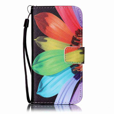 Sunflower Painted PU Phone Case for iPhone 6 / 6SiPhone Cases/Covers<br>Sunflower Painted PU Phone Case for iPhone 6 / 6S<br><br>Compatible for Apple: iPhone 6, iPhone 6S<br>Features: Wallet Case, Dirt-resistant, With Lanyard, With Credit Card Holder, Cases with Stand<br>Material: PU Leather<br>Package Contents: 1 x Phone Case<br>Package size (L x W x H): 14.00 x 7.00 x 1.80 cm / 5.51 x 2.76 x 0.71 inches<br>Package weight: 0.0580 kg<br>Style: Novelty