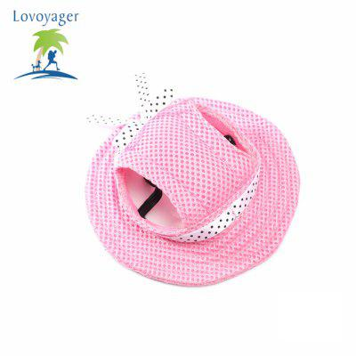 Lovoyager CAP001 Pet Princess Mesh Breathable Sun Cap Hat with Ear Holes for Small Dogs CatsOther Pet Supplies<br>Lovoyager CAP001 Pet Princess Mesh Breathable Sun Cap Hat with Ear Holes for Small Dogs Cats<br><br>For: Cats, Dogs<br>Functions: Adjustable<br>item: Pet Cap<br>Material: Super Strong Absorption Polythene<br>Package Contents: 1 x  Pet Cap<br>Package size (L x W x H): 18.00 x 12.00 x 3.00 cm / 7.09 x 4.72 x 1.18 inches<br>Package weight: 0.0400 kg<br>Season: Spring, Summer, Autumn<br>Size: Others<br>Type: Hat