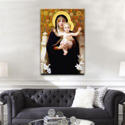 Buy COLORMIX YHHP Canvas Print Virgin Mary Wall Decor For Home Decoration for $16.27 in GearBest store