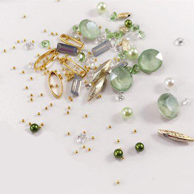 1 Box Decorative Big Dull Polish Green Jewel Pearl Accessories Mixed Style  Nail Art Decoration 80PCSNail Art Accessories<br>1 Box Decorative Big Dull Polish Green Jewel Pearl Accessories Mixed Style  Nail Art Decoration 80PCS<br><br>Application: Finger Nail<br>Material: Acrylic, Metal<br>Package Contents: 1 x box of nail art decoration<br>Package size (L x W x H): 4.00 x 4.00 x 1.50 cm / 1.57 x 1.57 x 0.59 inches<br>Package weight: 0.0150 kg