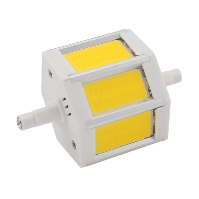 Buy WARM WHITE LIGHT R7S LED Bulb 78mm Floodlight AC 85 265V COB Sportlight Replace Halogen Lamp for $8.01 in GearBest store