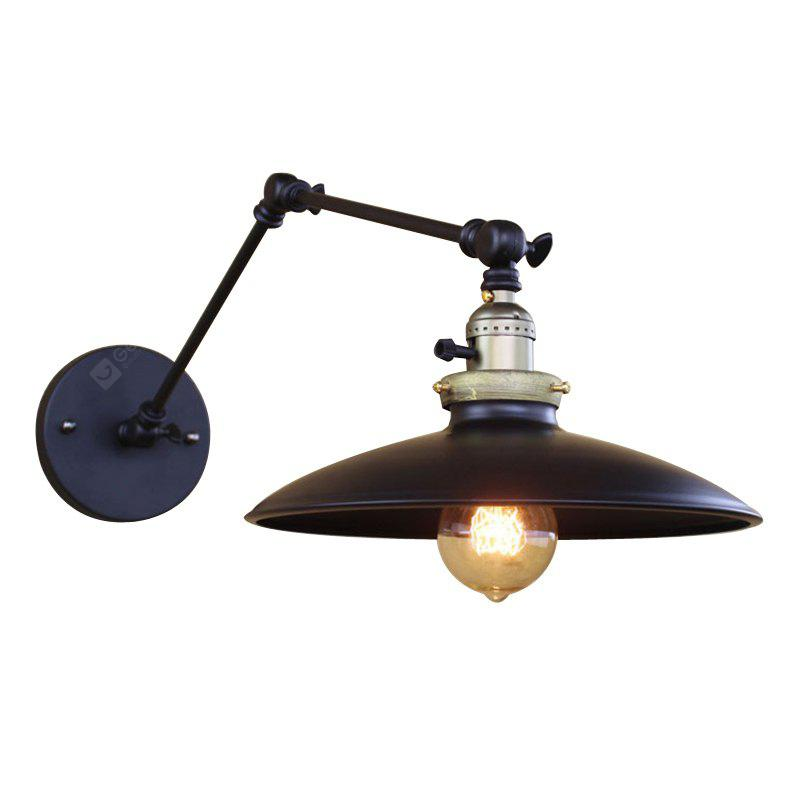 Brightness retro industrial style country wrought iron wall lights brightness retro industrial style country wrought iron wall lights restaurant cafe bars bar table swing arm aloadofball Choice Image