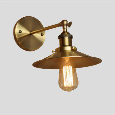 Buy COPPER COLOR Brightness Retro Industrial Style Country Metal Wall Lights Restaurant Cafe Bars Bar Table Minimalist Wall Sconces for $53.29 in GearBest store