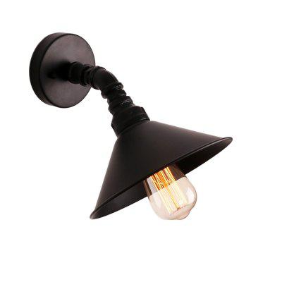 Brightness Industrial Style Wall Sconce Restaurant And Bar Metal Water Pipe Wall lamp