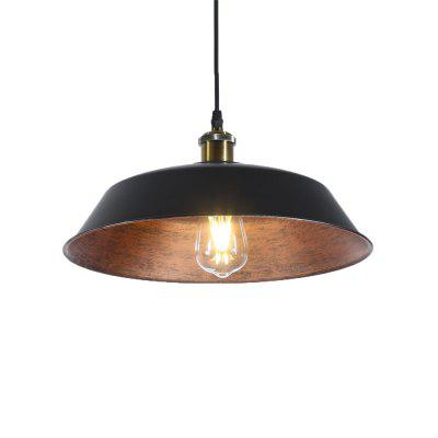 Brightness Northern Europe Vintage Industry Metal Pendant Lights Dining Room Living Room Kitchen Diameter 36cm