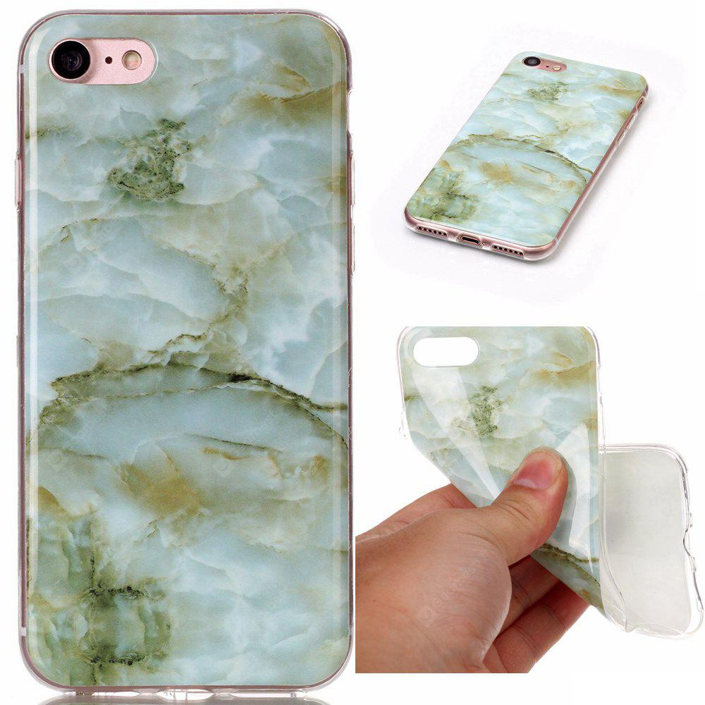 Wkae TPU Material Color Marble Pattern Protection Shell for iPhone 7 / 8