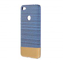 Wkae Jeans Canvas Leather Back Case Cover for Xiaomi Redmi 4X