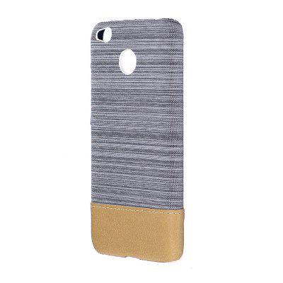 Wkae Jeans Canvas Leather Back Case Cover for Xiaomi Redmi Note 5A