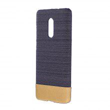Wkae Jeans Canvas Leather Back Case Cover for Xiaomi Redmi Note 4X / Note 4