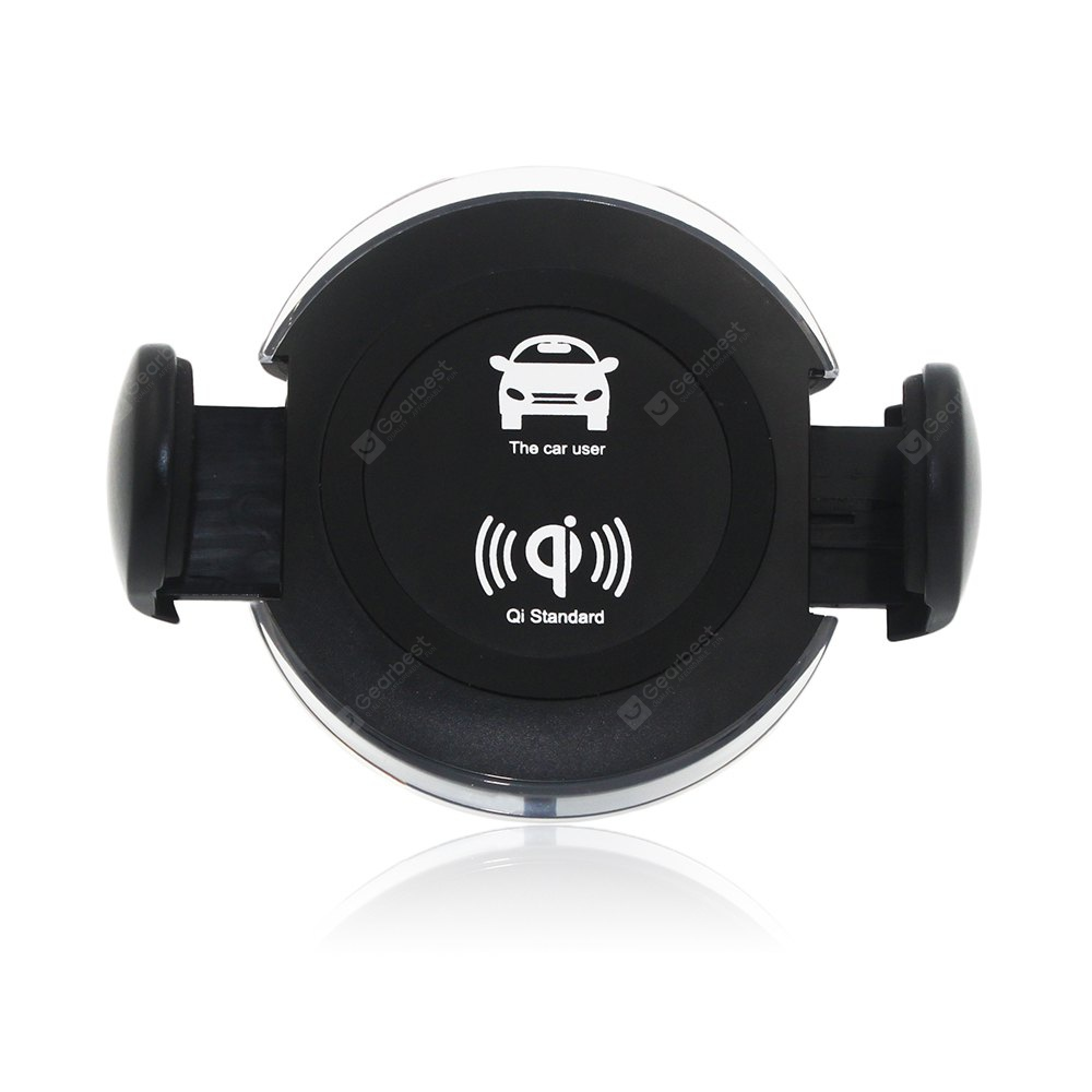 360 Rotatable Degrees Car Phone Mount Wireless Charger