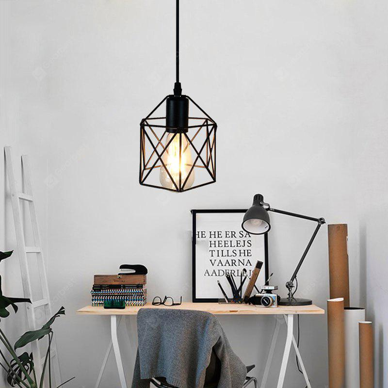 Ever-Flower Retro Industrial Pendant Lights for Bedroom Cafe Bar Painted Finish