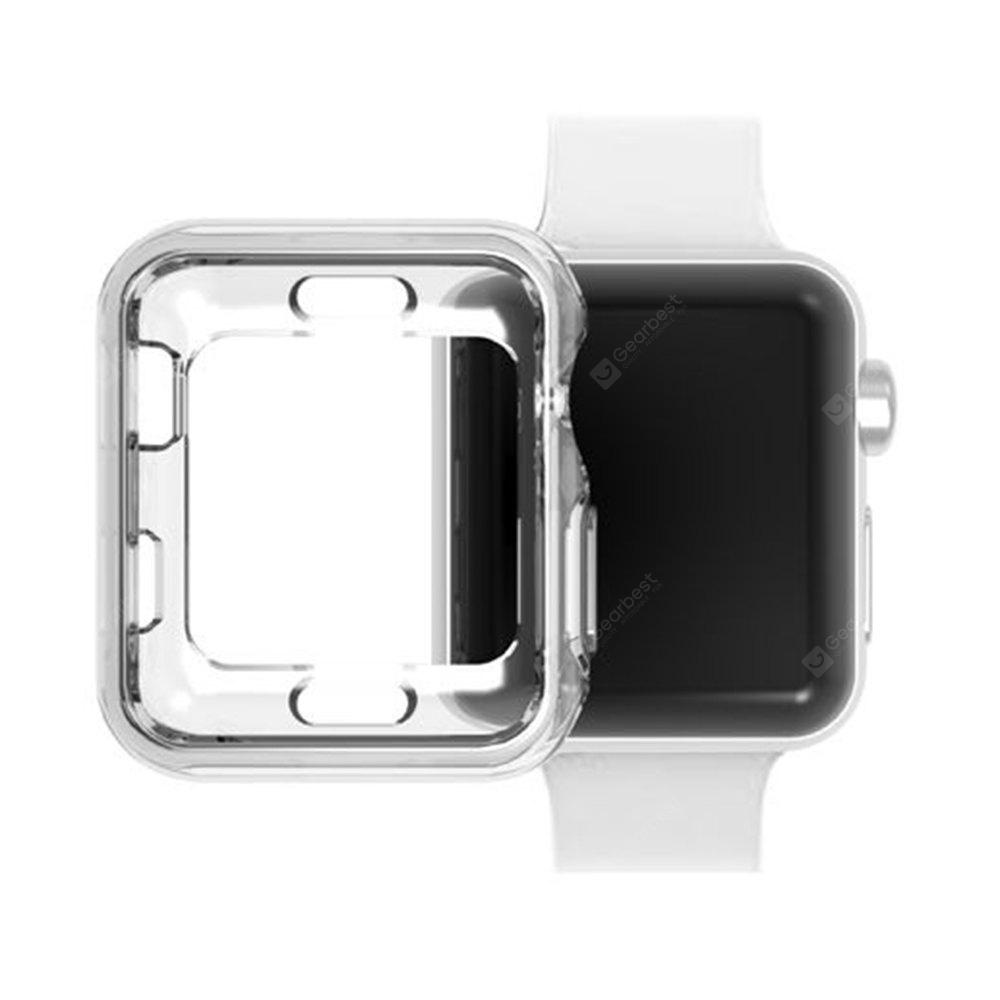 42mm TPU Screen Protector All-around Protective 0.3mm HD Clear Ultra-thin Cover Case for Apple Watch Series  3 / 2 / 1 Sport Edition