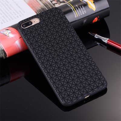 Flexible TPU Case with Grid Pattern Anti-Scratch Anti-Fingerprint Shockproof for iPhone 7 Plus / 8 PlusiPhone Cases/Covers<br>Flexible TPU Case with Grid Pattern Anti-Scratch Anti-Fingerprint Shockproof for iPhone 7 Plus / 8 Plus<br><br>Features: Anti-knock<br>Material: TPU<br>Package Contents: 1 x Phone Case<br>Package size (L x W x H): 18.00 x 13.00 x 3.00 cm / 7.09 x 5.12 x 1.18 inches<br>Package weight: 0.0600 kg<br>Style: Grid Pattern