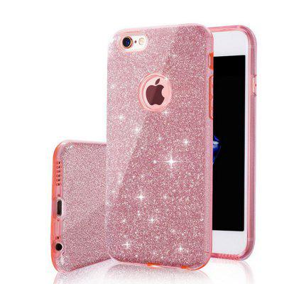 Mode Luxe Beschermende Hybrid Beauty Crystal Rhinestone Sparkle Glitter Harde Diamant Case Cover voor iPhone 7/8