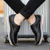 Spring and Autumn Men's Casual Shoes - BLACK