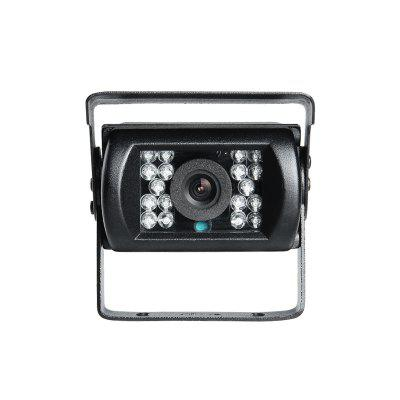 GISION Wide Angle 600TVL IR Night Vision Car Camera Waterproof CCD Vehicle Reverse Camera For Truck  ZX-670H 2.8MM