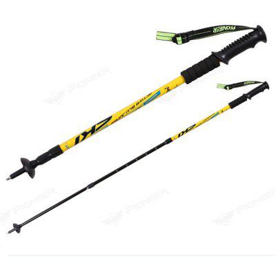 Trekking Poles Folding-Collapsible Hiking Poles Walking Stick