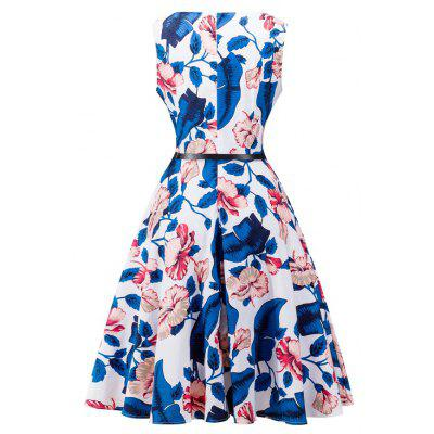 New More Style Women Flower Prints Sweet Dress Office Lady Princess Dress Female Vestido Ball Gown Party 50S 60S Women ClothingWomens Dresses<br>New More Style Women Flower Prints Sweet Dress Office Lady Princess Dress Female Vestido Ball Gown Party 50S 60S Women Clothing<br><br>Dresses Length: Knee-Length<br>Elasticity: Elastic<br>Fabric Type: Broadcloth<br>Material: Polyester, Cotton<br>Neckline: U Neck<br>Package Contents: 1 x Dress<br>Pattern Type: Print<br>Season: Summer<br>Silhouette: A-Line<br>Sleeve Length: Sleeveless<br>Style: Fashion<br>Weight: 0.6000kg<br>With Belt: No