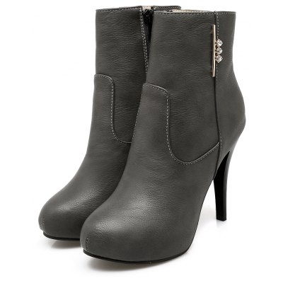 Womens Shoes Winter Fashion Stiletto Heel Round Toe Booties Sparkling Glitter ZipperWomens Boots<br>Womens Shoes Winter Fashion Stiletto Heel Round Toe Booties Sparkling Glitter Zipper<br><br>Boot Height: Ankle<br>Boot Tube Circumference: 25<br>Boot Tube Height: 11<br>Boot Type: Fashion Boots<br>Closure Type: Zip<br>Embellishment: Metal<br>Gender: For Women<br>Heel Height: 10<br>Heel Height Range: Super High(Above4)<br>Heel Type: Stiletto Heel<br>Insole Material: PU<br>Lining Material: PU<br>Outsole Material: Rubber<br>Package Contents: 1xShoes(pair)<br>Pattern Type: Solid<br>Platform Height: 1<br>Season: Winter<br>Shoe Width: Medium(B/M)<br>Toe Shape: Round Toe<br>Upper Material: PU<br>Weight: 1.9800kg