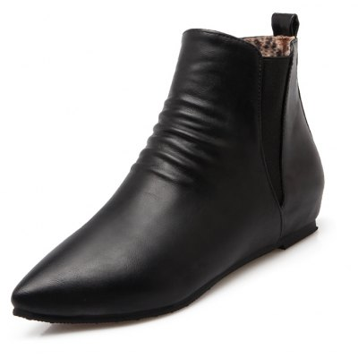 Womens Shoes Leatherette Winter Comfort Bootie Boots Low Heel Pointed Toe Casual Dress Red BlackWomens Boots<br>Womens Shoes Leatherette Winter Comfort Bootie Boots Low Heel Pointed Toe Casual Dress Red Black<br><br>Boot Height: Ankle<br>Boot Tube Circumference: 30<br>Boot Tube Height: 8<br>Boot Type: Fashion Boots<br>Closure Type: Elastic band<br>Gender: For Women<br>Heel Height: 4<br>Heel Height Range: Low(0.75-1.5)<br>Heel Type: Increased Internal<br>Insole Material: PU<br>Lining Material: PU<br>Outsole Material: Rubber<br>Package Contents: 1xShoes(pair)<br>Pattern Type: Solid<br>Platform Height: 1<br>Season: Winter<br>Shoe Width: Medium(B/M)<br>Toe Shape: Pointed Toe<br>Upper Material: PU<br>Weight: 1.9320kg