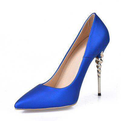 Basic Pump Formal Shoes Leatherette Spring Wedding Stiletto HeelWomens Pumps<br>Basic Pump Formal Shoes Leatherette Spring Wedding Stiletto Heel<br><br>Available Size: 34-43<br>Heel Height: 12<br>Heel Height Range: Super High(Above4)<br>Heel Type: Stiletto Heel<br>Insole Material: PU<br>Lining Material: PU<br>Occasion: Party<br>Outsole Material: Rubber<br>Package Contents: 1xShoes(pair)<br>Platform Height: 1<br>Pumps Type: Basic<br>Season: Summer, Spring/Fall<br>Shoe Width: Medium(B/M)<br>Toe Shape: Pointed Toe<br>Toe Style: Closed Toe<br>Upper Material: PU<br>Weight: 1.5840kg