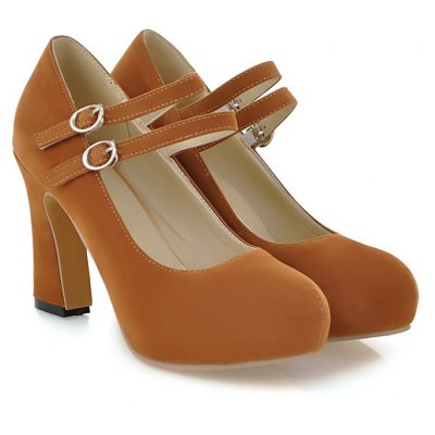 Womens Heels Spring Summer Club Shoes Leatherette Party &amp; Evening Dress Chunky Heel Buckle Blue Yellow Beige BlackWomens Pumps<br>Womens Heels Spring Summer Club Shoes Leatherette Party &amp; Evening Dress Chunky Heel Buckle Blue Yellow Beige Black<br><br>Available Size: 34-43<br>Embellishment: Metal<br>Heel Height: 9.5<br>Heel Height Range: High(3-3.99)<br>Heel Type: Chunky Heel<br>Insole Material: PU<br>Lining Material: PU<br>Occasion: Wedding<br>Outsole Material: Rubber<br>Package Contents: 1xShoes(pair)<br>Platform Height: 2<br>Pumps Type: Mary Janes<br>Season: Spring/Fall<br>Shoe Width: Medium(B/M)<br>Toe Shape: Round Toe<br>Toe Style: Closed Toe<br>Upper Material: PU<br>Weight: 1.9320kg