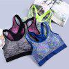 Ladies Seamless Padded Running Sports Bra for New Fashion Women - BLUE 3930#