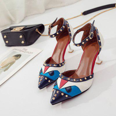 2017 New Womens Shoes Stars With The Same Small Monster Trend Burst Fashionable High-heeled Sandals WE-G39Womens Pumps<br>2017 New Womens Shoes Stars With The Same Small Monster Trend Burst Fashionable High-heeled Sandals WE-G39<br><br>Available Size: 35 36 37 38 39<br>Heel Height: 7.5<br>Heel Height Range: High(3-3.99)<br>Heel Type: Stiletto Heel<br>Insole Material: PU<br>Lining Material: PU<br>Occasion: Casual<br>Outsole Material: Rubber<br>Package Contents: 1XShoes(pair)<br>Pumps Type: Basic<br>Season: Summer, Spring/Fall<br>Shoe Width: Medium(B/M)<br>Toe Shape: Pointed Toe<br>Toe Style: Closed Toe<br>Upper Material: PU<br>Weight: 1.2800kg