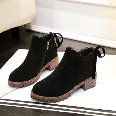New Womens Short Boots Thick Bottom Retro Matting British Trend AnkleWomens Boots<br>New Womens Short Boots Thick Bottom Retro Matting British Trend Ankle<br><br>Boot Height: Ankle<br>Boot Type: Riding/Equestrian<br>Closure Type: Zip<br>Gender: For Women<br>Heel Height: 5<br>Heel Height Range: Med(1.75-2.75)<br>Heel Type: Chunky Heel<br>Outsole Material: Rubber<br>Package Contents: 1XShoes(pair)<br>Pattern Type: Solid<br>Season: Winter<br>Shoe Width: Medium(B/M)<br>Toe Shape: Round Toe<br>Upper Material: Flock<br>Weight: 1.2800kg