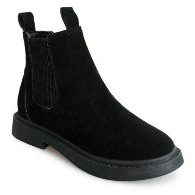 New Winter England Wind Flat Bottomed Students Martin Boots Wedgie