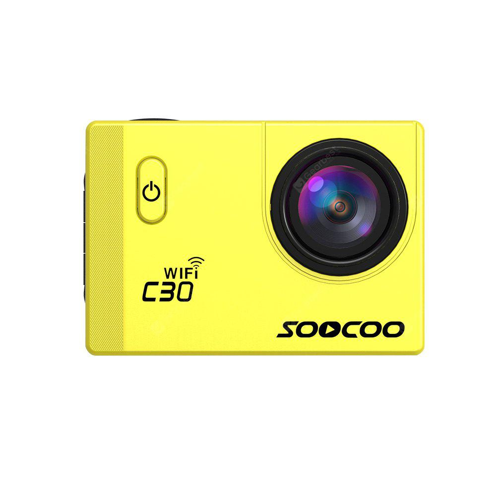 SOOCOO C30 Sports Action Camera  WiFi 4K  NTK96660 Adjustable Viewing angles(70-170 Degrees)