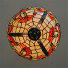 Modern Art Crafts Nordic Stained Glass Lamp Shade Lustre Vanity Pendant Light Fixtures Chandelier Restaurant Coffee Luminaire DFNDD-10 - COLORMIX