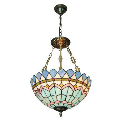 Buy COLORMIX Modern Art Crafts Nordic Stained Glass Lamp Shade Lustre Vanity Pendant Light Fixtures Chandelier Restaurant Coffee Luminaire DFNDD-13 for $164.18 in GearBest store
