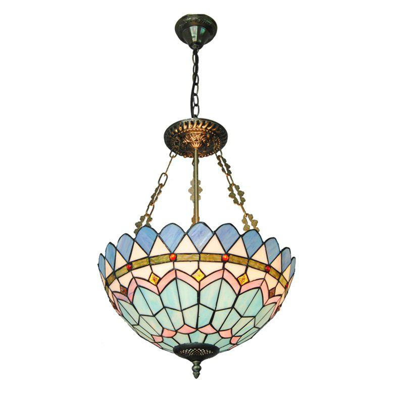 Modern Art Crafts Nordic Stained Glass Lamp Shade Re Vanity Pendant Light Fixtures Chandelier Restaurant Coffee