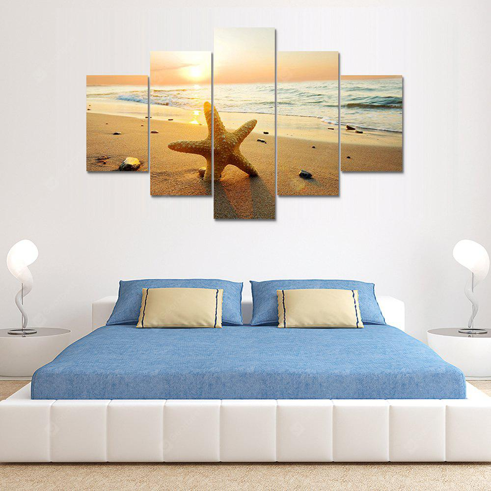 Starfish A Canvas Print Painting Home Decoration Wall Rrt Picture 5 Panel